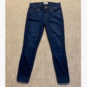 EUC Paige Verdugo Ankle Skinny Jeans sz 30